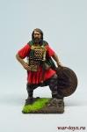 Валийский вождь, 1270 - Оловянный солдатик коллекционная роспись 54 мм. Все оловянные солдатики расписываются художником в ручную