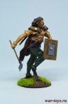 Кельтский воин - Оловянный солдатик коллекционная роспись 54 мм. Все оловянные солдатики расписываются художником в ручную