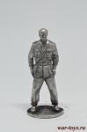 Луи де Фюнес - Оловянный солдатик. Чернение. Высота солдатика 54 мм