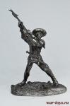 ЭПОХА РЕНЕССАНСА - Оловянный солдатик. Чернение. Высота солдатика 54 мм