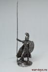 Македонец 200-168 г. до н.э 75 мм - Оловянный солдатик. Чернение. Высота солдатика 75 мм.