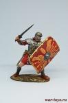 Тяжеловооруженный пехотинец, V Македонский легион 1-2 вв - Оловянный солдатик коллекционная роспись 54 мм. Все оловянные солдатики расписываются художником вручную