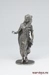 Египецкая принцесса - Не крашенный оловянный солдатик. Высота 54 мм.