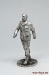 Фидель Кастро - Не крашенный оловянный солдатик. Высота 54 мм.