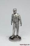 Министр обороны - Не крашенный оловянный солдатик. Высота 54 мм.