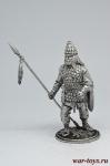 Скифский воин - Не крашенный оловянный солдатик. Высота 54 мм.