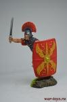 Центурион XIX легиона, 9 г. н. э. - Оловянный солдатик коллекционная роспись 54 мм. Все оловянные солдатики расписываются художником вручную