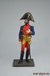 Офицер кавалерии. Польша 1810 - Оловянный солдатик коллекционная роспись 54 мм. Все оловянные солдатики расписываются художником вручную
