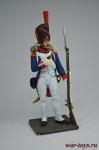 Гренадер 1805 - Оловянный солдатик коллекционная роспись 54 мм. Все оловянные солдатики расписываются художником вручную