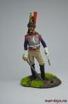 Офицер кирасиров (1807) - Оловянный солдатик коллекционная роспись 54 мм. Все оловянные солдатики расписываются художником вручную