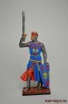 Вильям Лонгспи, граф Солсбери. Англия, нач. 13 века - Оловянный солдатик коллекционная роспись 54 мм. Все оловянные солдатики расписываются художником вручную