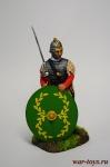 Римский офицер пехоты, Битва при Страсбурге, 357 г. - Оловянный солдатик коллекционная роспись 54 мм. Все оловянные солдатики расписываются художником вручную