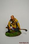 Оджибве Трейдер - Оловянный солдатик коллекционная роспись 54 мм. Все оловянные солдатики расписываются художником вручную