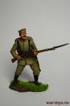 Рядовой пехотного полка, Германия, 1914 год - Оловянный солдатик коллекционная роспись 54 мм. Все оловянные солдатики расписываются художником вручную