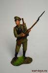 Рядовой лейб-гвардии пехотного полка, Россия, 1914 год - Оловянный солдатик коллекционная роспись 54 мм. Все оловянные солдатики расписываются художником вручную