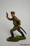 Подполковник пехотного полка, Россия, 1914 год - Оловянный солдатик коллекционная роспись 54 мм. Все оловянные солдатики расписываются художником вручную