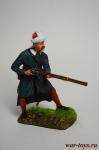 Стрелок-левант провинциальной пехоты йерликулу, 18 в. Османская  - Оловянный солдатик коллекционная роспись 54 мм. Все оловянные солдатики расписываются художником вручную