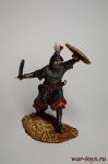 Византийский пехотинец, XII в. - Оловянный солдатик коллекционная роспись 54 мм. Все оловянные солдатики расписываются художником в ручную
