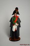 Генерал от инфантерии М.Б.Барклай де Толли. Россия, 1810-12 гг. - Оловянный солдатик коллекционная роспись 54 мм. Все оловянные солдатики расписываются художником в ручную