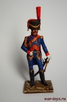 Офицер артиллерии. Франция - Оловянный солдатик коллекционная роспись 54 мм. Все оловянные солдатики расписываются художником в ручную