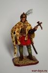 Польский гусарский товарищ, 1600-20 гг. - Оловянный солдатик коллекционная роспись 54 мм. Все оловянные солдатики расписываются художником в ручную