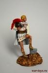 Александр Македонский - Оловянный солдатик коллекционная роспись 54 мм. Все оловянные солдатики расписываются художником в ручную