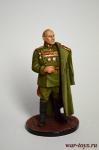 Маршал Советского Союза Г.К. Жуков - Оловянный солдатик коллекционная роспись 54 мм. Все оловянные солдатики расписываются художником в ручную
