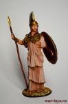 Римская богиня Минерва - Оловянный солдатик коллекционная роспись 54 мм. Все оловянные солдатики расписываются художником в ручную