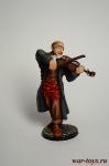 Еврейский музыкант - Оловянный солдатик коллекционная роспись 54 мм. Все оловянные солдатики расписываются художником в ручную