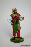 Путешественник - Оловянный солдатик коллекционная роспись 54 мм. Все оловянные солдатики расписываются художником в ручную