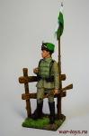 Немецкий гусар 1915 (гусары смерти) - Оловянный солдатик коллекционная роспись 54 мм. Все оловянные солдатики расписываются художником в ручную