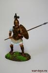 Сариссофор, 331 г. до н.э. - Оловянный солдатик коллекционная роспись 54 мм. Все оловянные солдатики расписываются художником в ручную