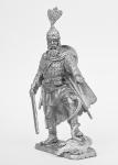Князь Олег. (годы правления 879-912 г.г.) - Не крашенный оловянный солдатик. Высота 54 мм.