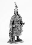 Хан Кучум - Не крашенный оловянный солдатик. Высота 54 мм.