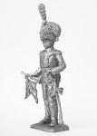 Трубач роты польских улан - Не крашенный оловянный солдатик. Высота 54 мм.