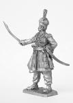 Полковник полка кракусов - Не крашенный оловянный солдатик. Высота 54 мм.