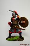 Золотоордынский воин, 14 век - Оловянный солдатик коллекционная роспись 54 мм. Все оловянные солдатики расписываются художником вручную