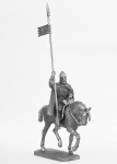 Святой Вацлав (907-935 г.г.) - Не крашенный оловянный солдатик. Высота 54 мм