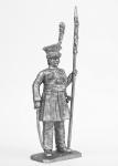 Рядовой полка кракусов - Не крашенный оловянный солдатик. Высота 54 мм
