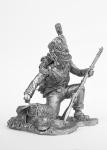 Гренадер пехотного полка герцогства Варшавского 1812год - Не крашенный оловянный солдатик. Высота 54 мм