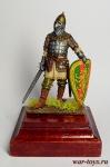 Русский знатный воин, конец 13-го – 14 век - Оловянный солдатик коллекционная роспись 54 мм. Все оловянные солдатики расписываются художником вручную