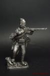 Егерь полка Багратиона 1799 год армии Суворова - Не крашенный оловянный солдатик. Высота 54 мм
