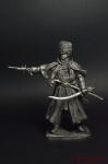 Полковник Фигнер А.С. - Не крашенный оловянный солдатик. Высота 54 мм