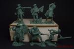 Набор солдатиков Трапперы 6 шт. (пластик) - Набор из 6 фигур. Пластик, высота фигур 54 мм.
