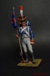 Сержант гренадрской гвардии - Оловянный солдатик коллекционная роспись 54 мм. Все оловянные солдатики расписываются художником вручную