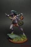 Индийская богиня Кали - Оловянный солдатик коллекционная роспись 54 мм. Все оловянные солдатики расписываются художником вручную