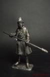 Артиллерист новоприборных полков 1700 год - Не крашенный оловянный солдатик. Высота 54 мм