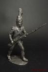 Карабинер Цезальпинской республики, 1799 - Не крашенный оловянный солдатик. Высота 54 мм