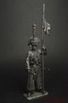 Рядовой эскадрона литов. татар гвардейской кавалерии Наполеона - Оловянный солдатик. Чернение. Высота солдатика 54 мм