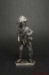 Офицер пехот. плк Граф и Принц 1810 Княжество Хессен-Дармштадт - Оловянный солдатик. Чернение. Высота солдатика 54 мм